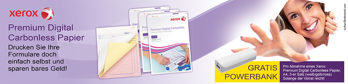 Xerox Carbonless Papier-Aktion 2020